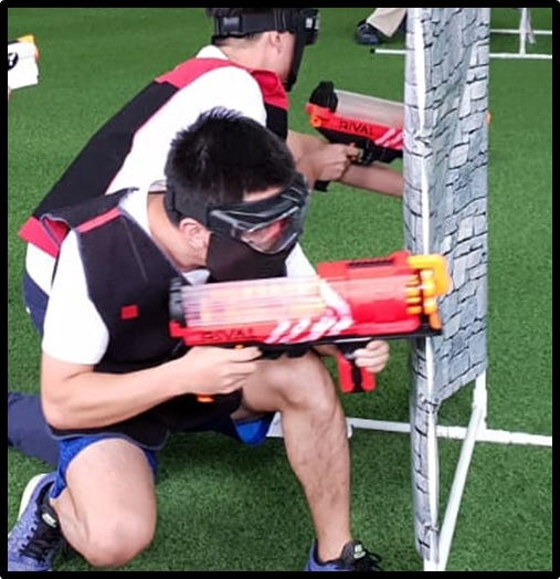 NERF RIVAL Artemis for RIVAL TAG Singapore Team Building