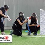 Teamwork is the key to winning a RIVAL TAG team building game!