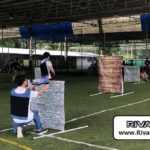 Obstacles setup in a RIVAL TAG game